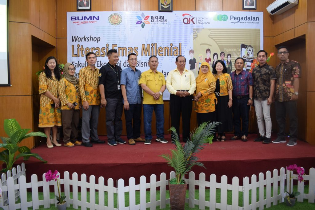 WORKSHOP LITERASI EMAS MILENIAL 2019