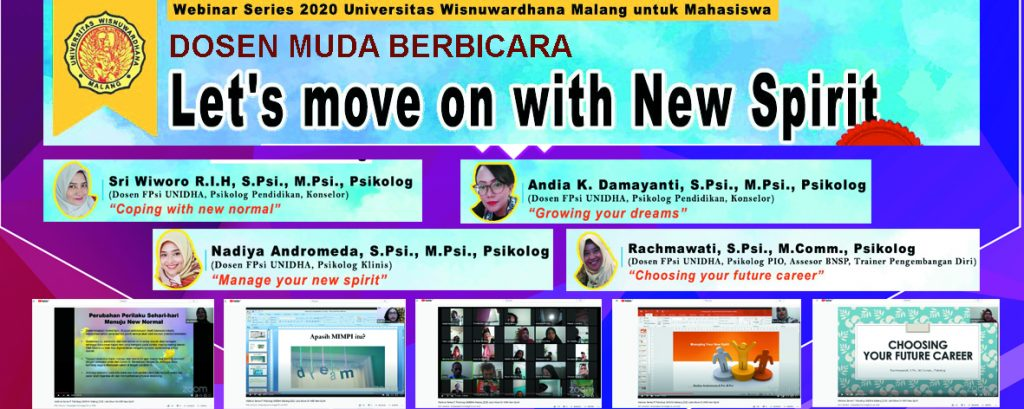 DOSEN MUDA BERBICARA: LET'S MOVE ON WITH NEW SPIRIT