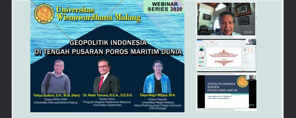 GEOPOLITIK INDONESIA DI TENGAH PUSARAN POROS MARITIM DUNIA